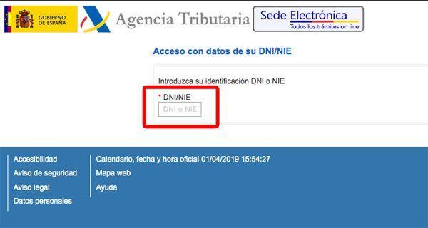 cita hacienda internet paso 4