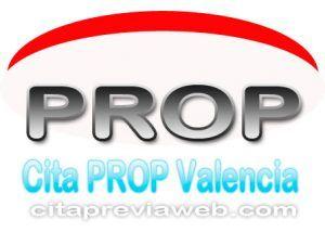 Cita previa en las Oficinas PROP de la Comunidad Valenciana