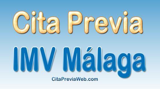 Cita previa IMV Málaga