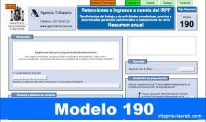 modelo 190