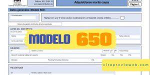 modelo 650