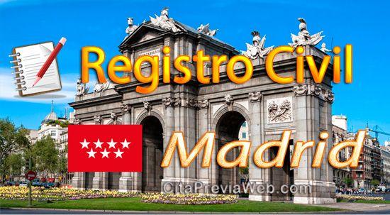 Información del Registro Civil de Madrid para pedir cita. Aquí tienes la dirección , horario y mapa para llegar al Registro Civil en Calle Pradillo