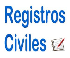 Lista de Registros Civiles de España