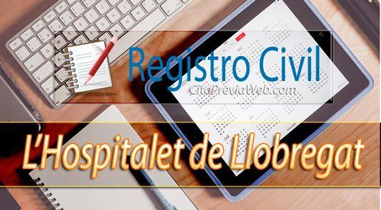 Informació de Registre Civil de L'Hospitalet de Llobregat a Barcelona amb adreça, telèfon, horari i cita prèvia