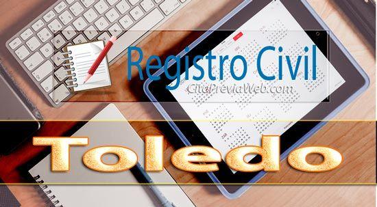 Información del Registro Civil de Toledo con dirección, teléfono, horario y cita previa