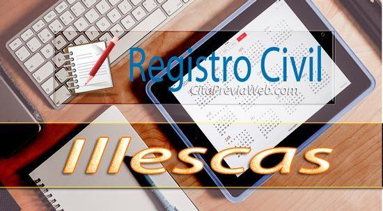 Información del Registro Civil de Illescas con dirección, teléfono, horario y cita previa