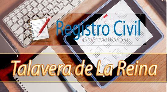 Información del Registro Civil de Talavera de La Reina con dirección, teléfono, horario y cita previa